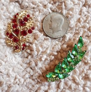 TWO Vintage Brooches